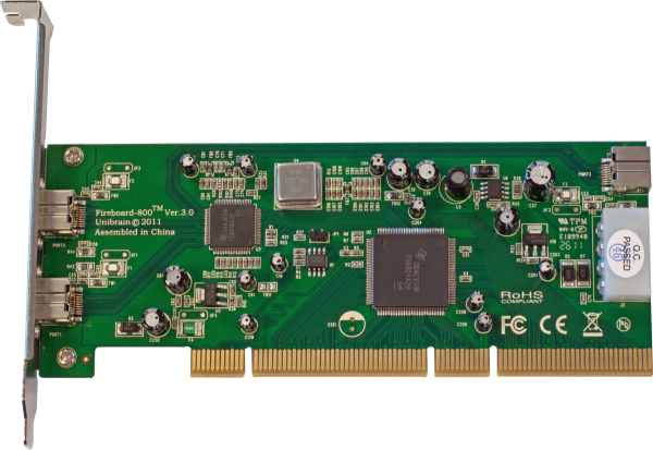 Fireboard-800 V.3 64 bit 1394b PCI adapter
