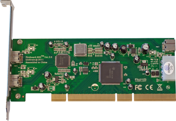 Fireboard-800 V.3 64 bit 1394b PCI adapter