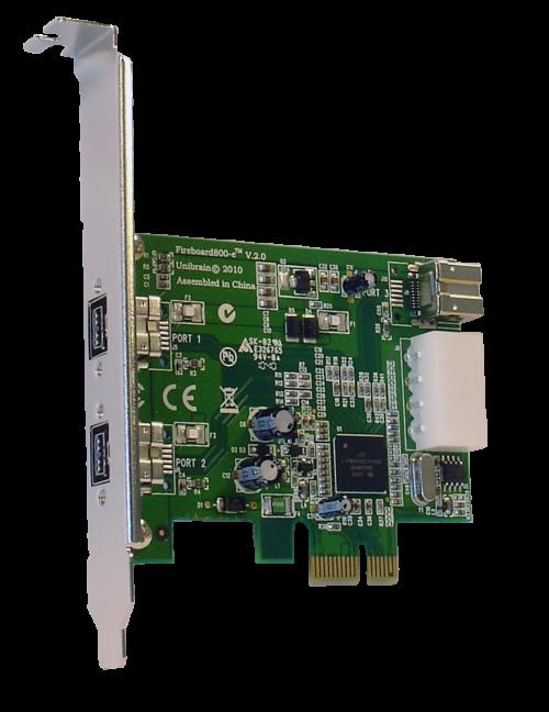 Fireboard800-e Firewire-800 PCI-e adapter