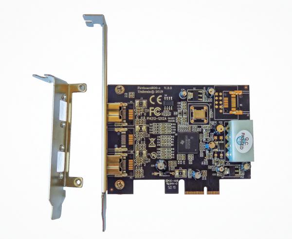 Fireboard800-e V.3 1394b OHCI PCI-e adapter
