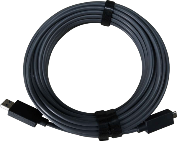 USB 3.1 10 Gbps Type-A to Type-C hybrid active optical cable